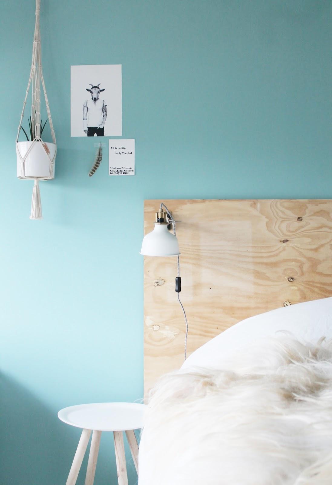 Missjettle : blauw in de slaapkamer