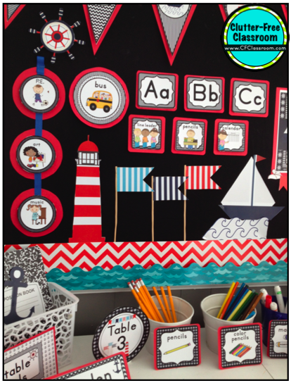 Classroom Decor Nautical ~ Nautical sailing themed classroom ideas photos tips