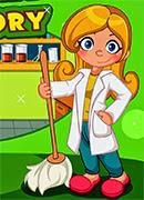 Лаборатория Уборка - Онлайн игра для девочек