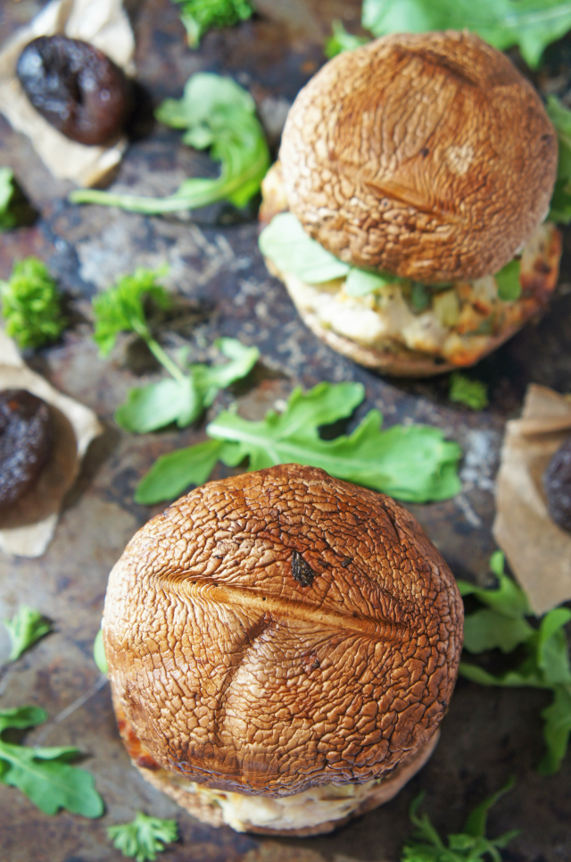 Meaty turkey burgers with a fruity twist from some sweet apple and apricots. They're paleo, gluten-free, wheat-free, dairy-free, not to mention delicious | from The Road to Less Cake | #paleo #glutenfree #wheatfree #burgers #turkey #dairyfree
