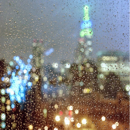 rain in New York