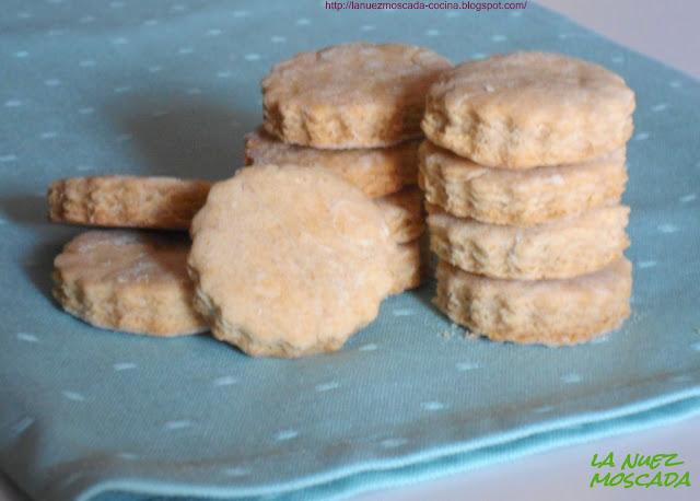 biscotti integrali di kamut - galletas integrales de kamut
