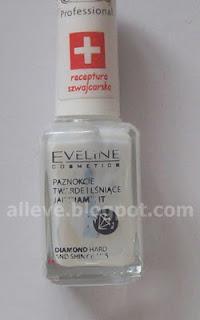 Eveline, Nail Therapy Professional, Odżywka wzmacniająca z diamentami