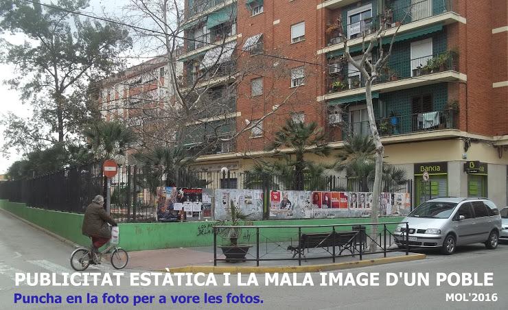20.02.16 PUBLICITAT ESTATI- CA I LA MALA IMAGE D'UN POBLE COM MANISES