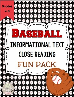 https://www.teacherspayteachers.com/Product/Baseball-Close-Reading-Informational-Text-Bundle-for-Middle-School-1118784