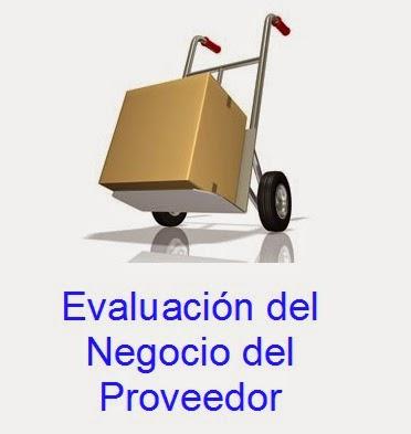 Evaluación del negocio del proveedor