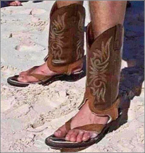 now i why to wear cowboy boots