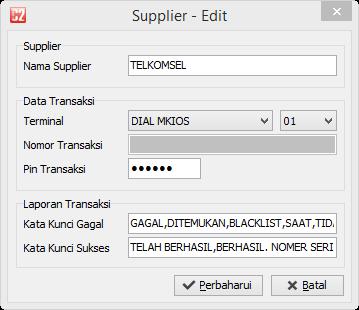 C2 Metro - PIN Supplier dienkripsi