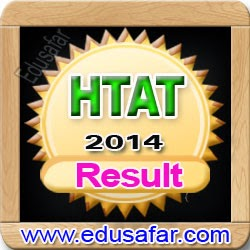 HTAT 2014  Result and Final Answer Key