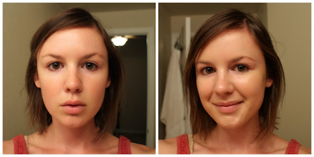it cosmetics cc cream before & after