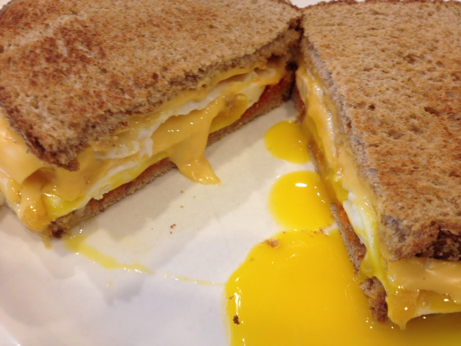 Fried Egg Sandwich - Feed Your Soul Too
