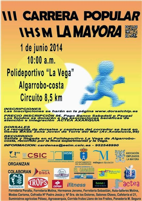 CARRERA POPULAR LA MAYORA