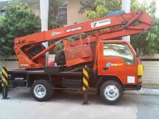 Pengiriman Mobil Crane Jakarta ke Medan
