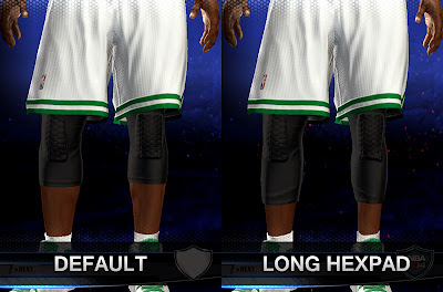 NBA 2K14 Long HexPad Knee Accessory