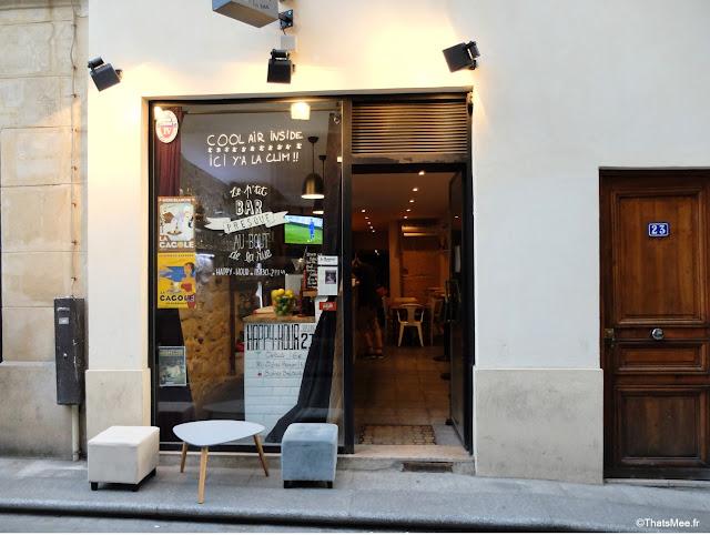 Le p'tit bar presque au bout de la rue sélection de bières du monde entier, rue saint-sauveur nouveau quartier bars restos branchés cool Paris 2ème ThatsMee.fr