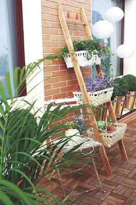 Escada floreira onde encontrar, blog Achados de Decoração