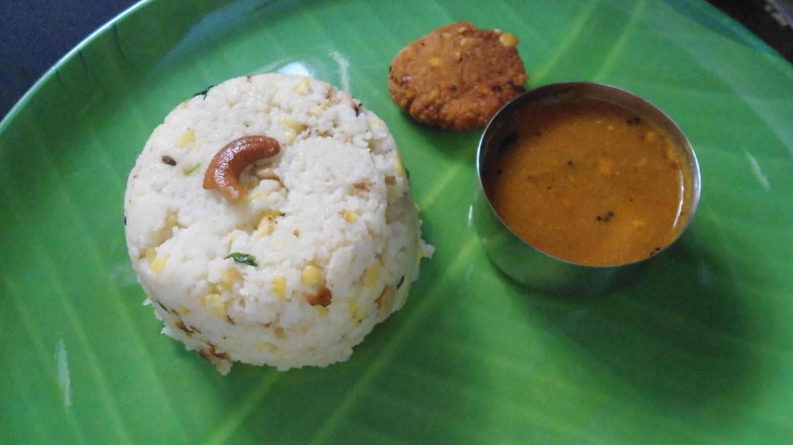 samai/little millet pongal
