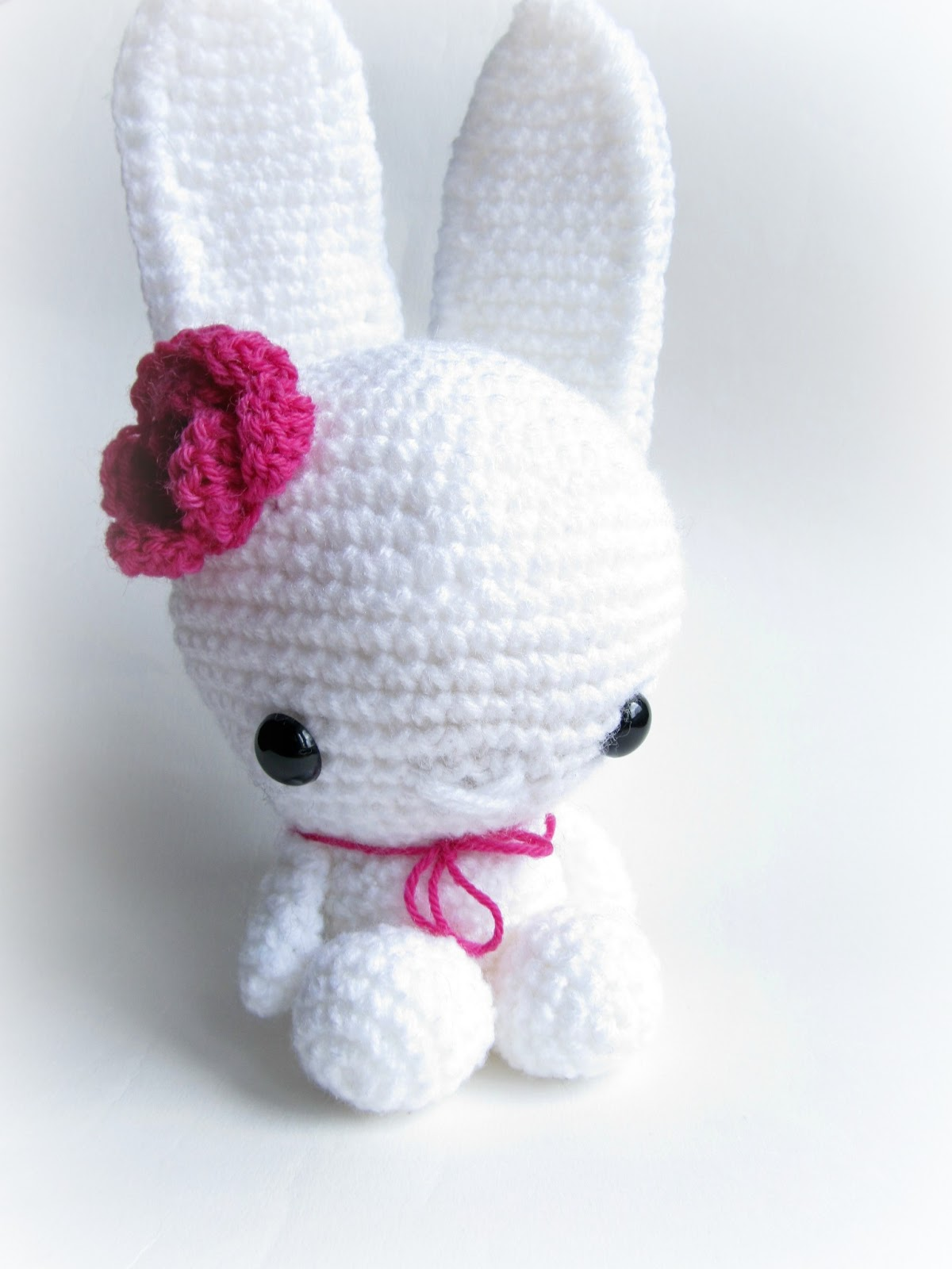 Amigurumi Head And Body : {White Amigurumi Bunny} - Little Things Blogged