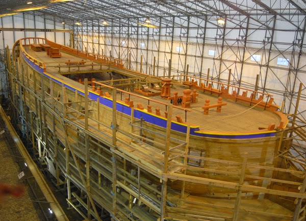 1001 boats for Rochefort construction