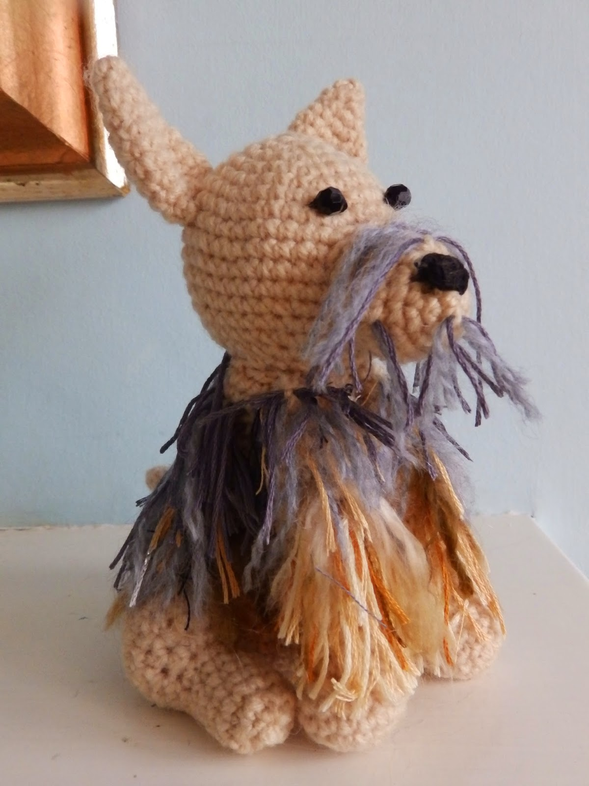 Crochet Pattern For Yorkie Dog : crafty-cats-corner: CROCHET YORKIE DOG REQUIRES LOTS OF ...