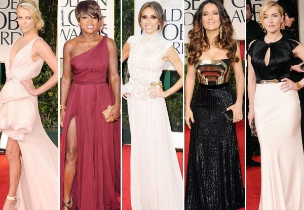 Golden Globes 2012 Style Best Dressed A Little Bit Of