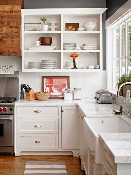 Open Shelve Wall Cabinets