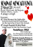 SEMINAR MENCARI CINTA