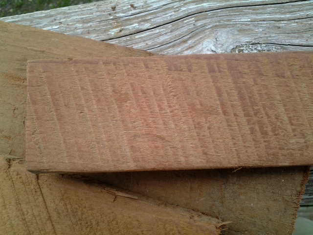 Rough Sawn Edge ~ Carpentrydiem mystery hardwood revealed it s an end table