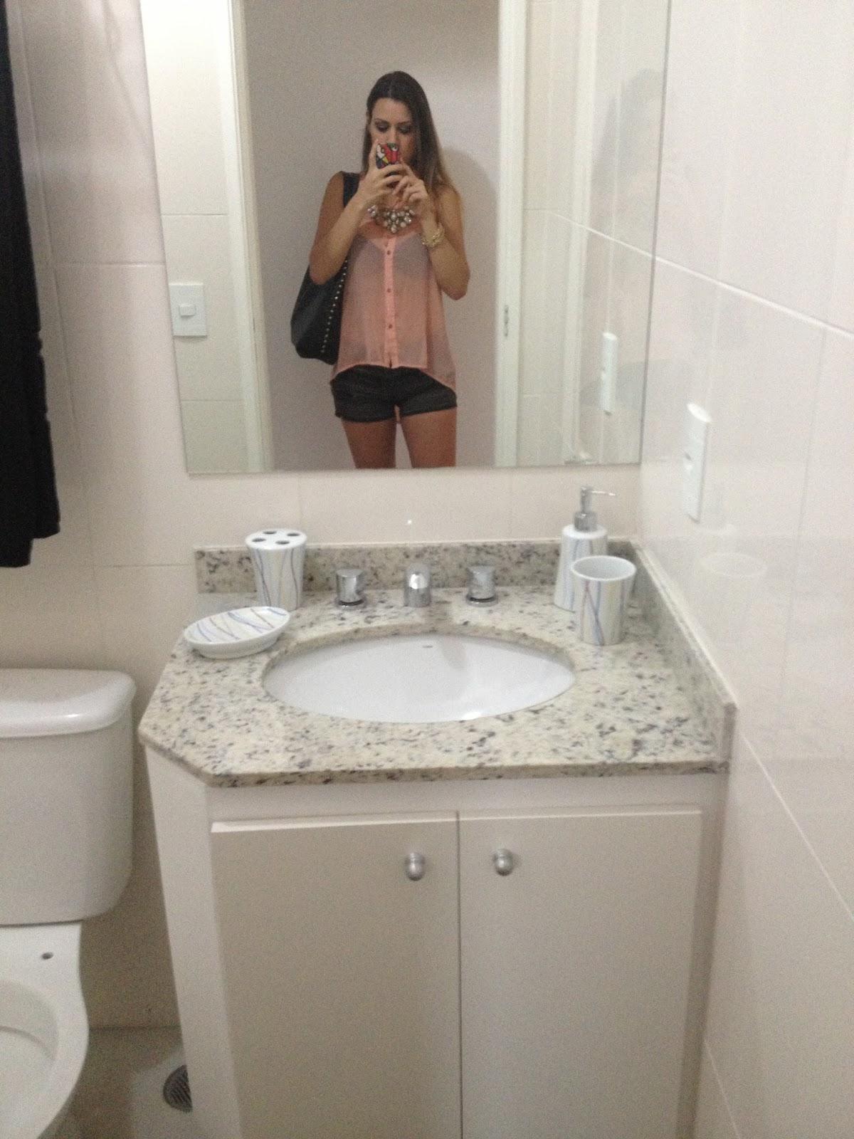 Banheiro da sala! A mesma pedra e o gabinete no mesmo estilo tbm  #654B3B 1200 1600