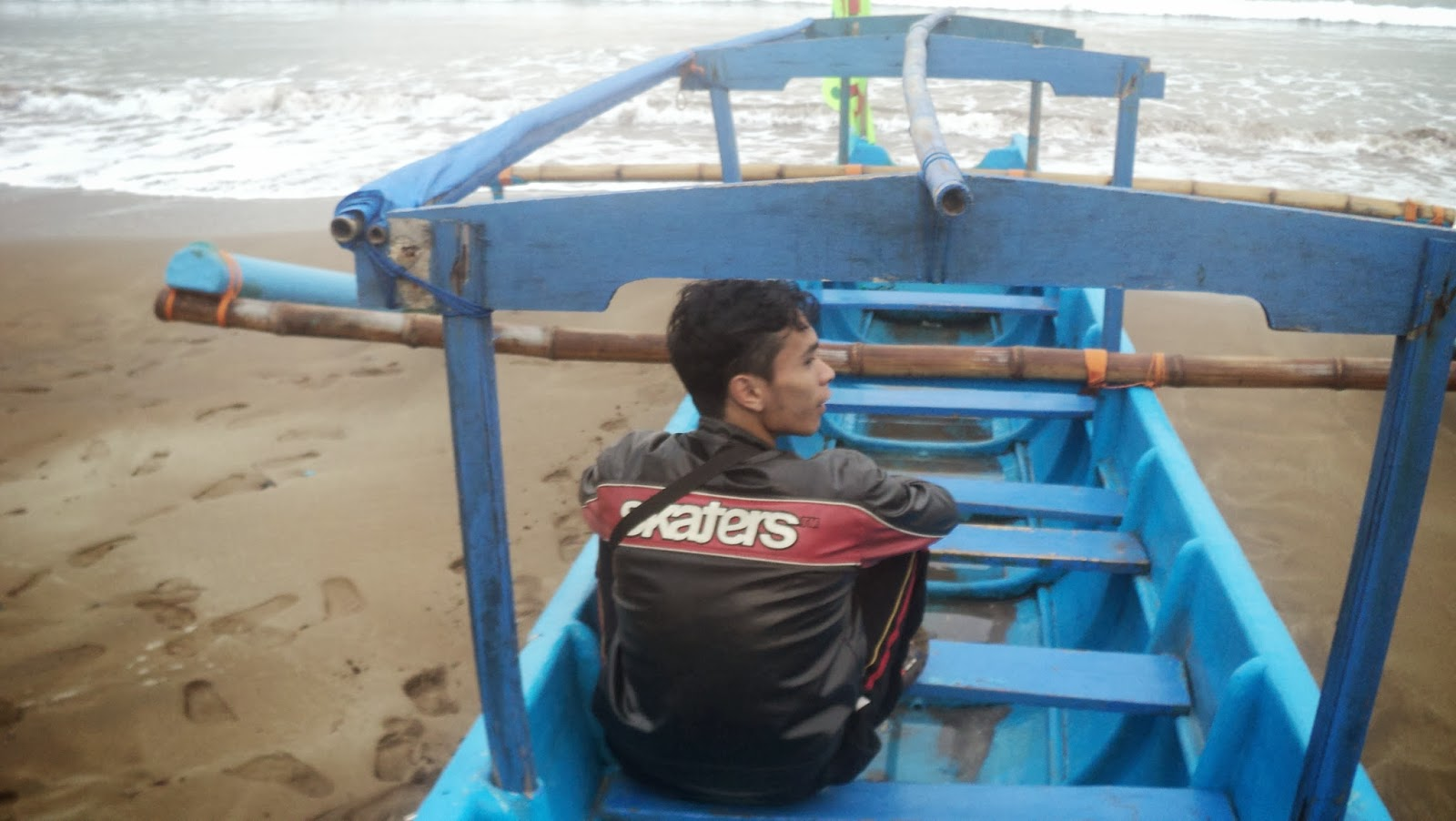 Indahnya Pantai Pangandaran