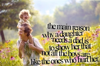 why daughter needs dad quote and saying about life