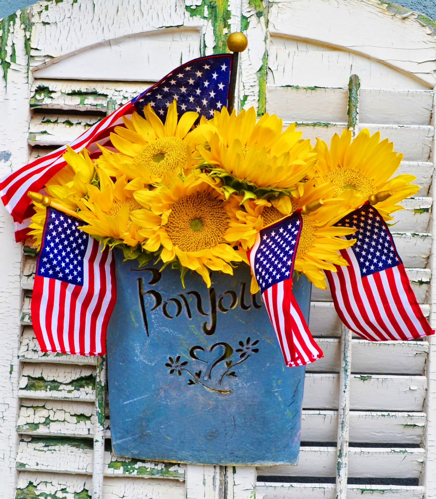 my painted garden flags traditions and memorial day