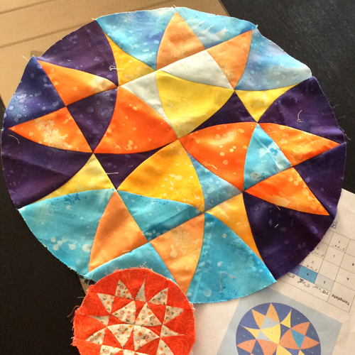 Winding Ways Wheel Quilt