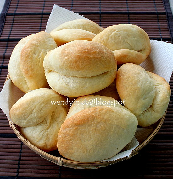Table for 2.... or more: Parker House Rolls - Plain Rolls #2