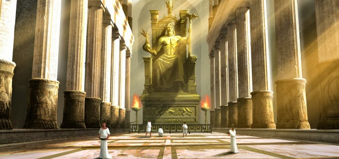 Statue Of Zeus At Olympia Education
