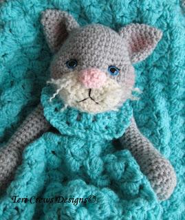 Snuggle Cat Scarf PDF Knitting Pattern by patternsalacarte on Etsy