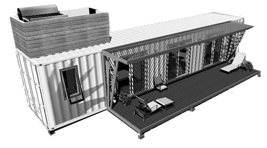 Casas recicladas hechas con contenedores mar timos - Casas hechas con contenedores maritimos ...