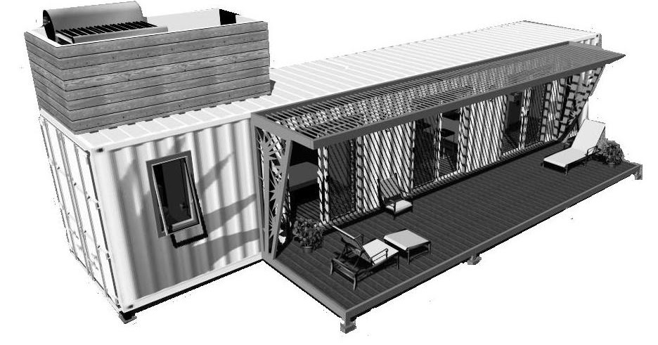 Ecovert domus verde casas recicladas hechas con - Casas hechas con contenedores precios ...