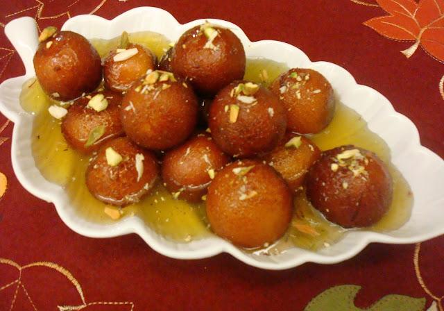 Gulab Jamun for Vrat