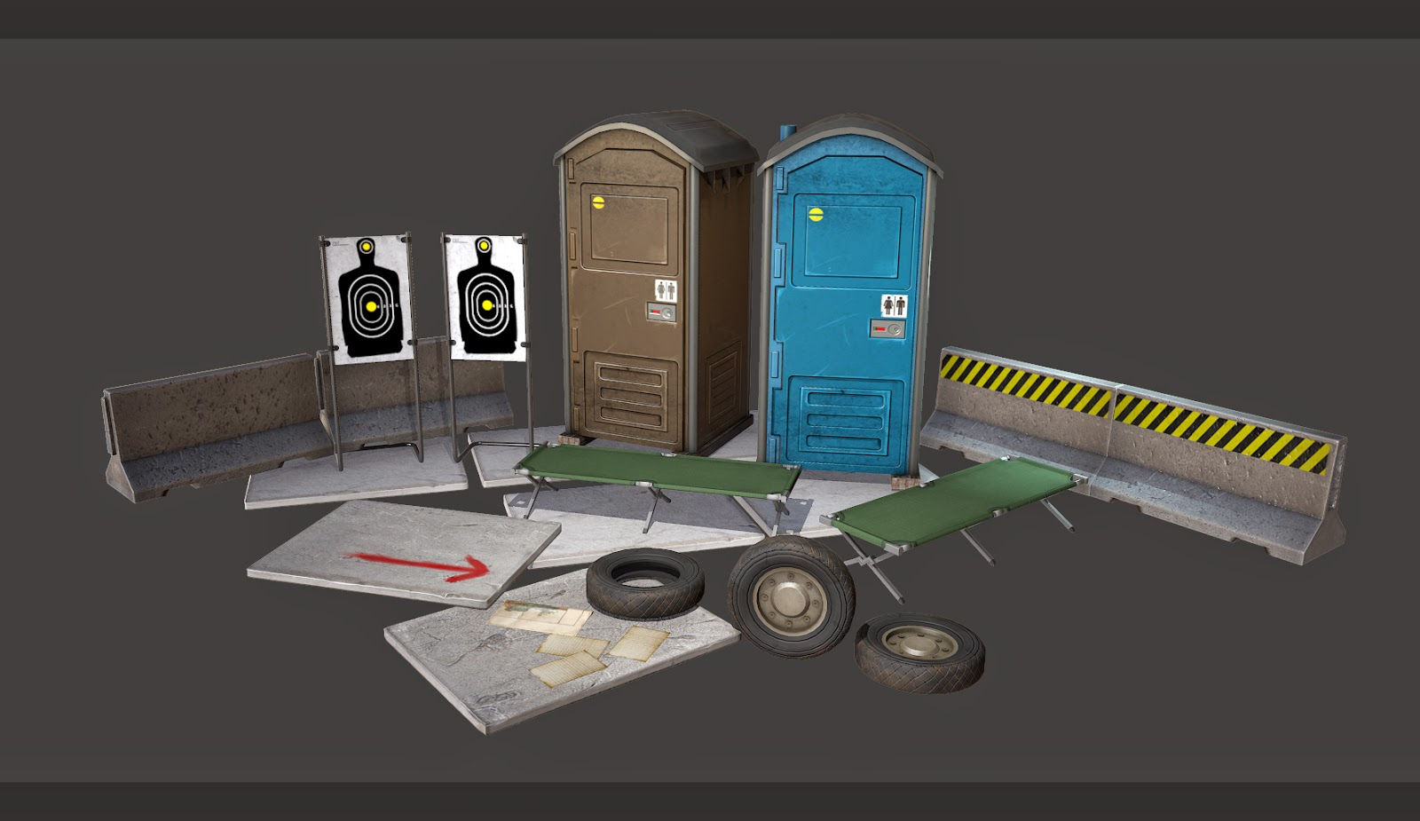 Army Props