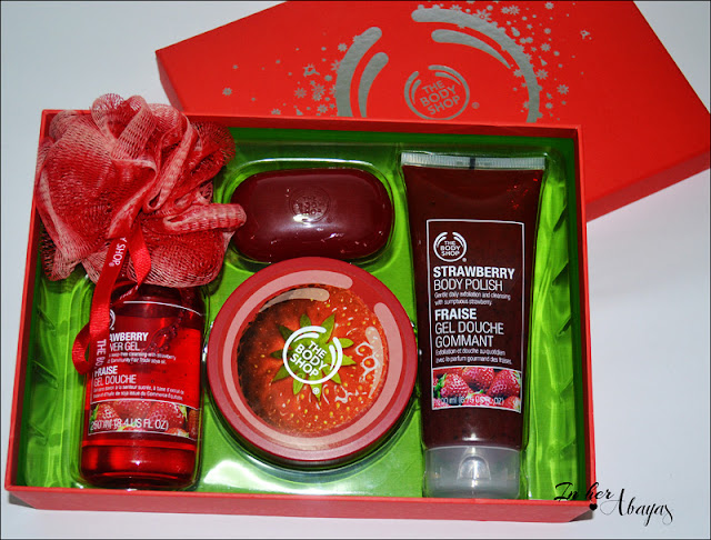 The Body Shop Stawberry set