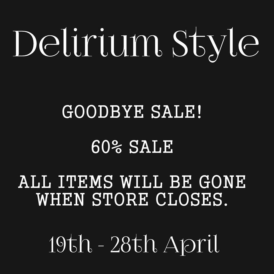 Delirium Style - Store Close