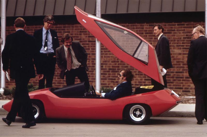 Experimental electric car