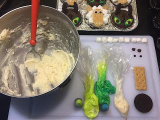 DIY party cupcakes