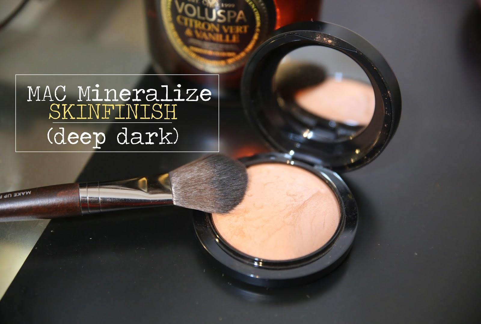 Mac Mineralize Skinfinish Deep Dark