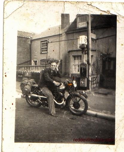 Panther vintage thirties motorcycle