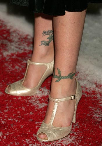 Christina Applegate tattoos