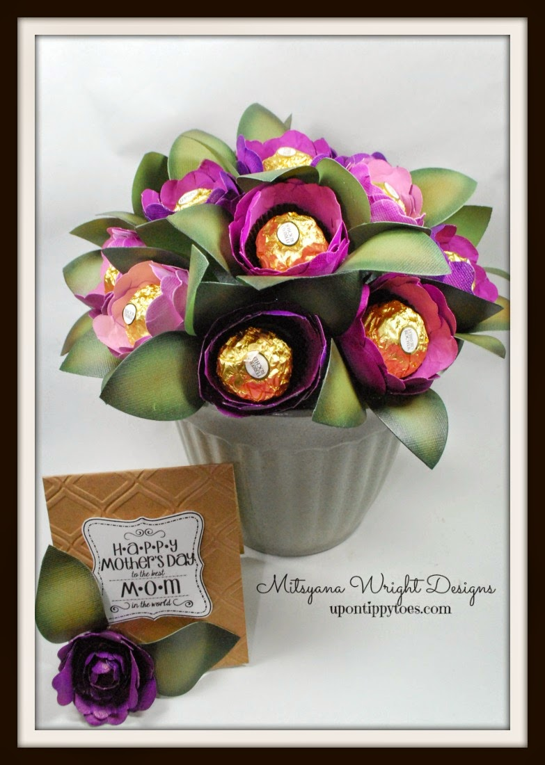 Mothers Day Chocolate Bouquet Craftwell Blog