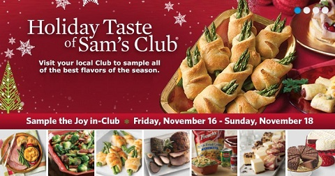 Holiday Taste of Sam's Club