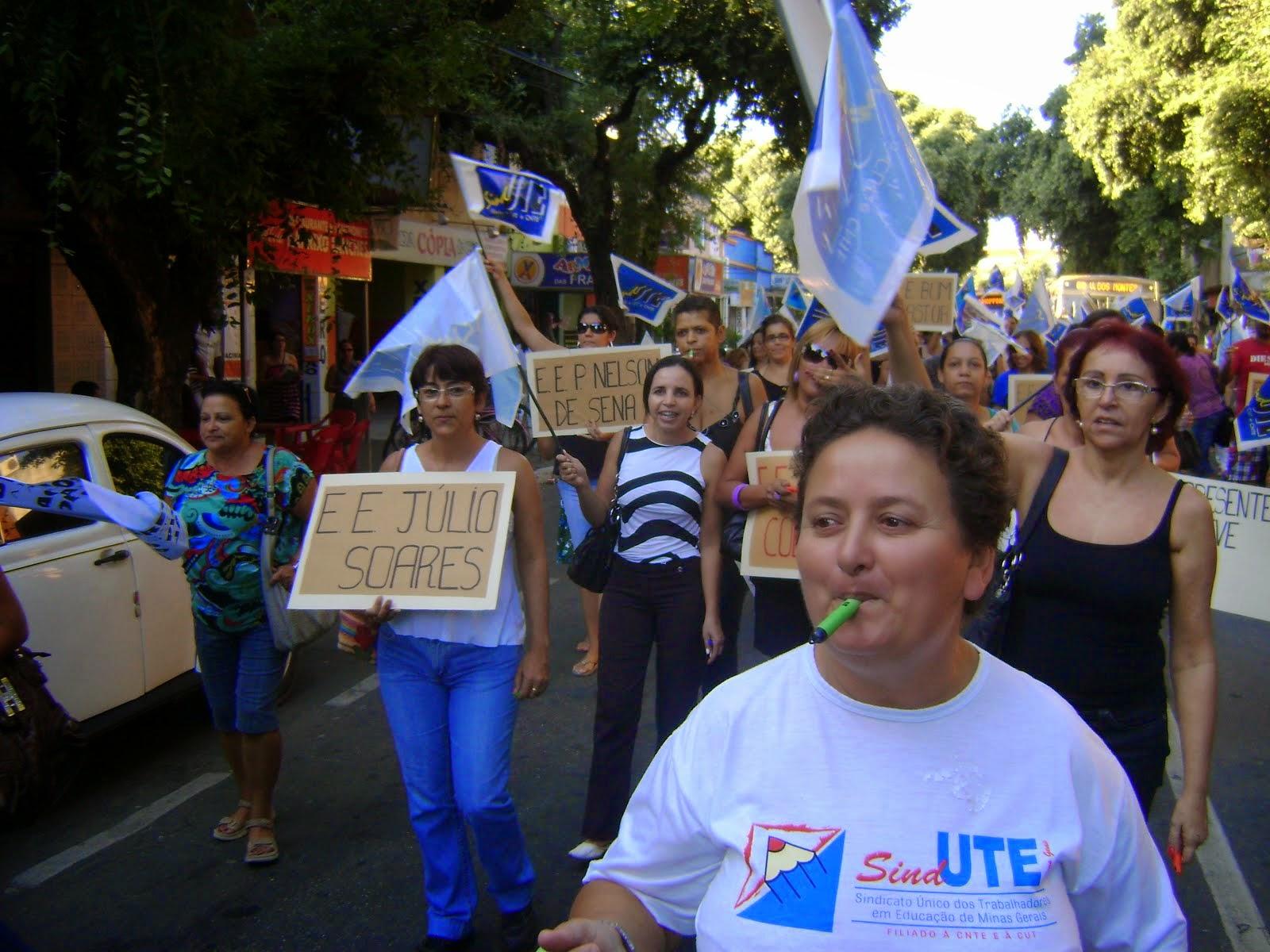 Manifestação em GV no dia 07/05/2010